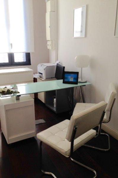 Bureau du cabinet dentaire